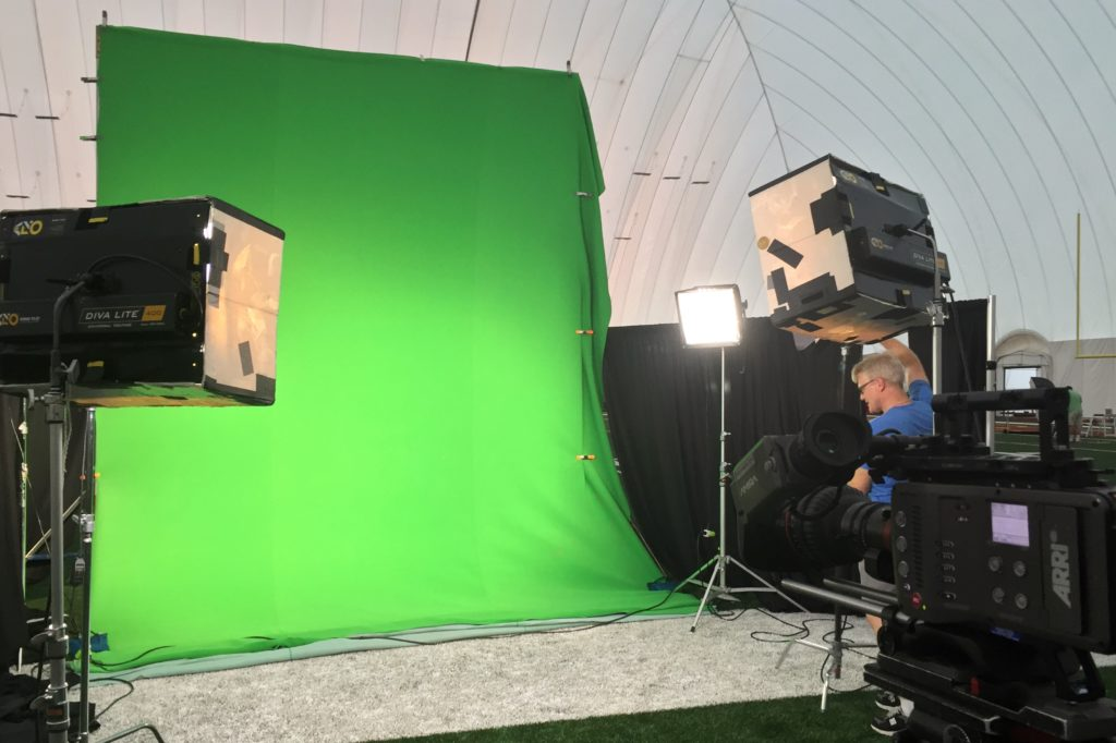 Redskins Kirk Cousins NBC Sundsy Night Football Green Screen